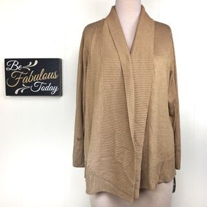 NWT International Concepts Open Front Cardigan 3X